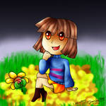 Collab : Frisk With Skirt