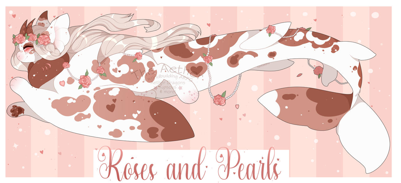 [Draw-To-Adopt] Roses and Pearls