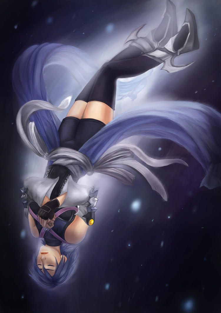 Kingdom Hearts Birth by Sleep - Aqua by Strvayne