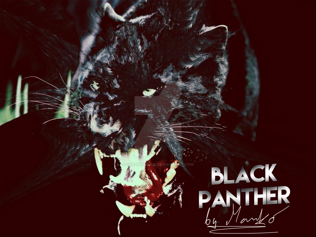 Black Panther By Portela On Deviantart: Black Panther By Dynamunique On DeviantArt