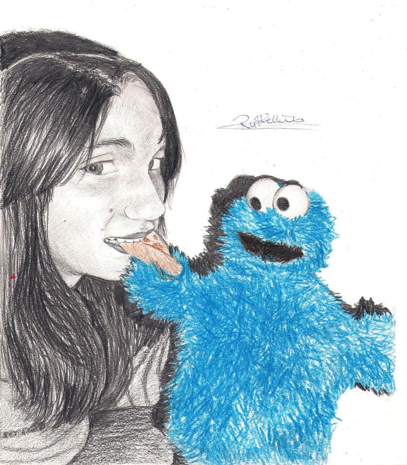 cookie monster by Lady-Blue-Dandelion on DeviantArt
