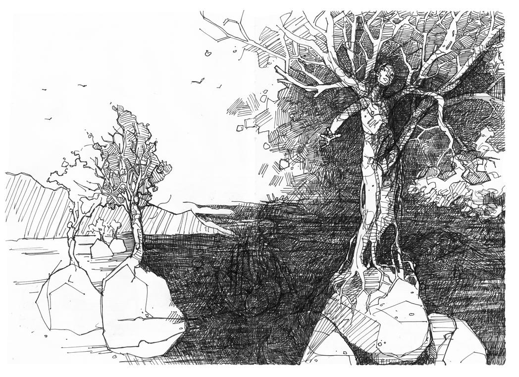 the Watchers - pg85 by HellYesArt
