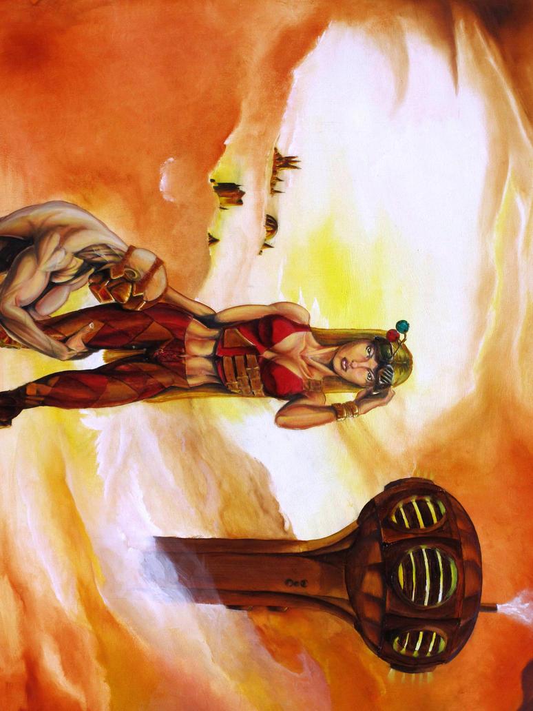 Steampunk Amazon by Skorp77