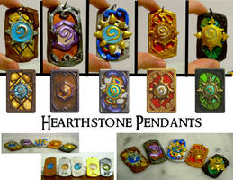 Hearthstone Pendants by MalaCembra