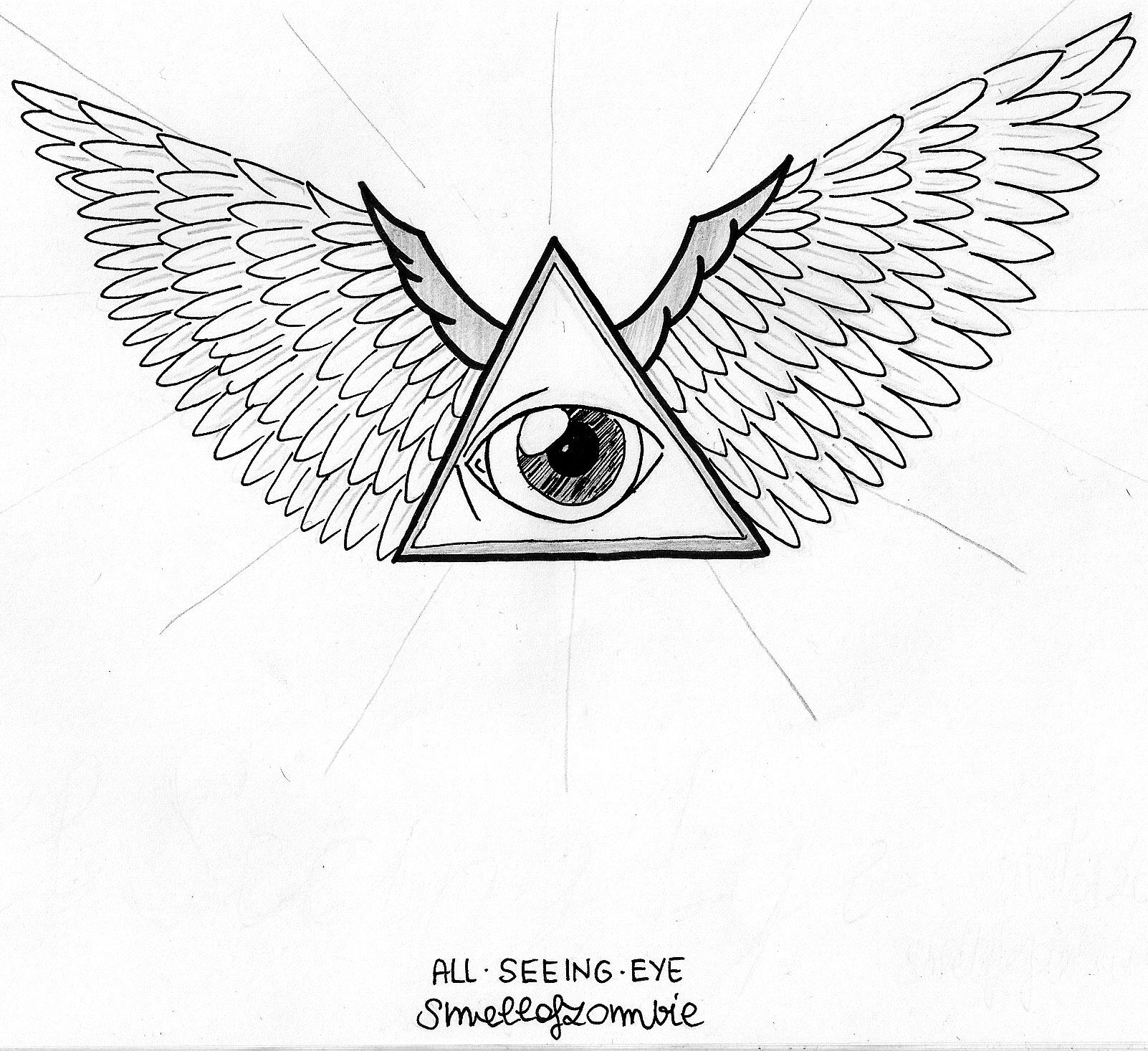 All Seeing Eye By Smellofzombie On DeviantArt