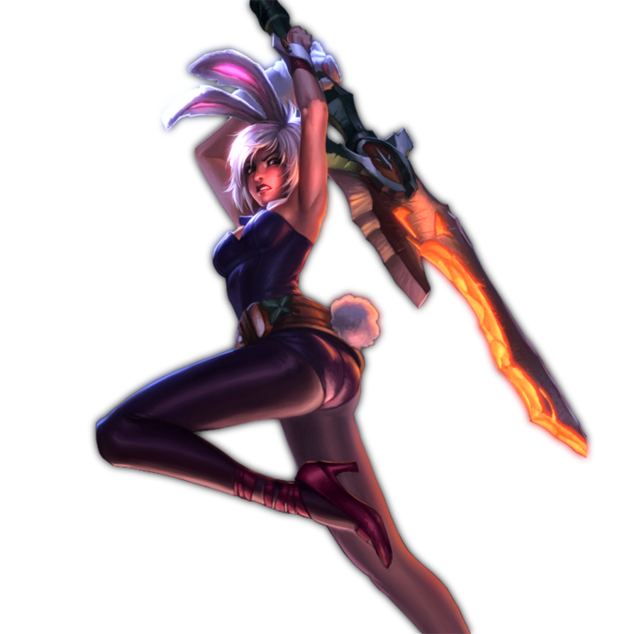 renders League Of Legend  League_of_legends___battle_bunny_riven_by_themelonmuffin-d4wyle0