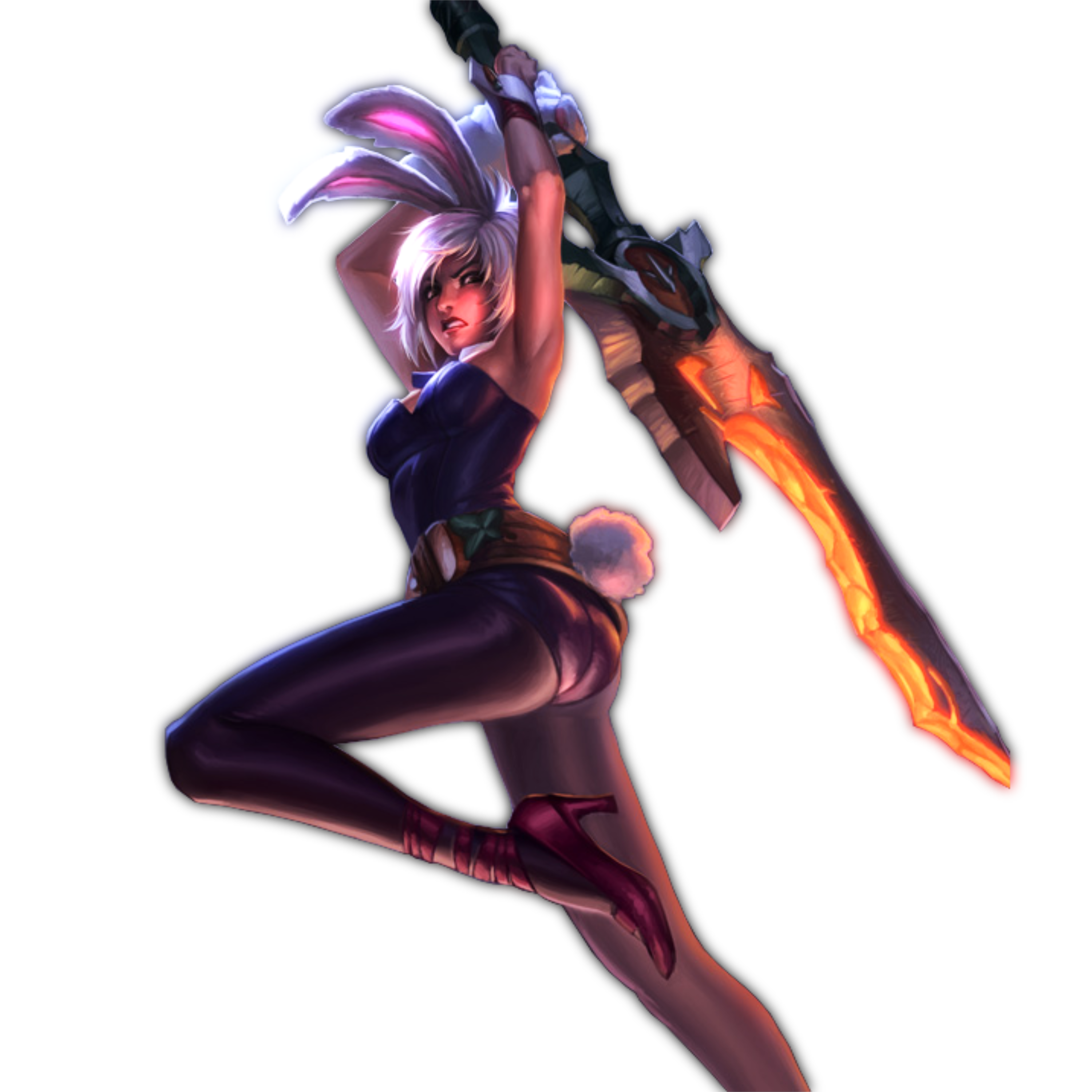 Render favourites by anabel99 on deviantart zero0kiryu 125 3 league of legends battle bunny riven by themelonmuffin voltagebd Choice Image