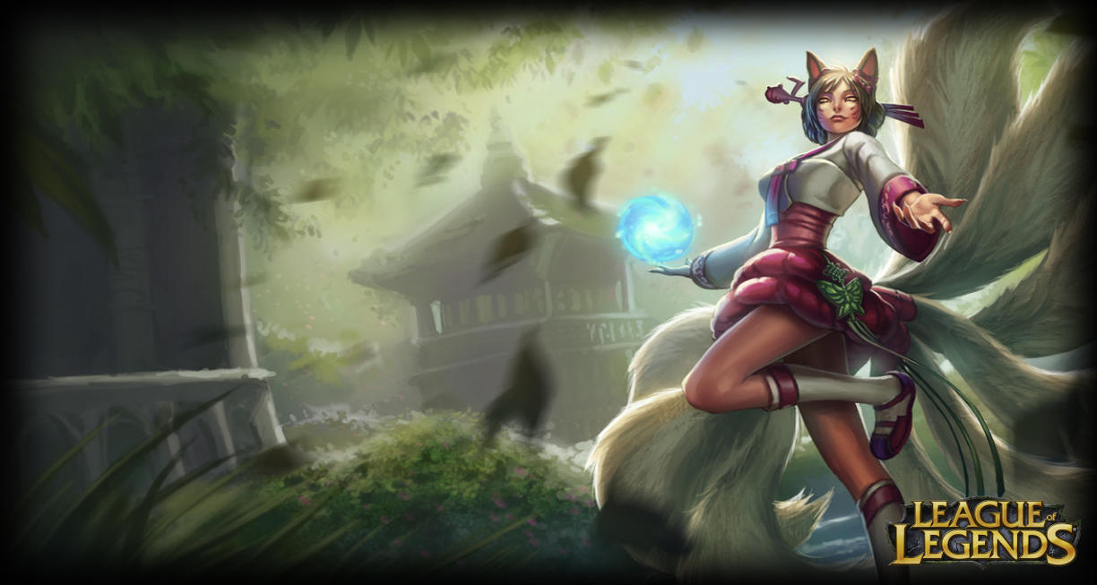 LandingPage Ahri  Dynasty  by Dynasty Ahri Wallpaper