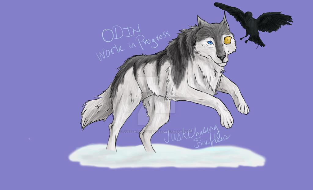 Odin -Work in Progress by JustChasingFireflies
