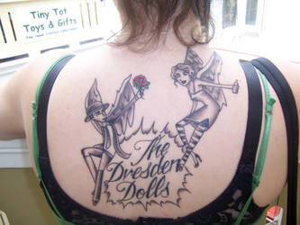 Dresden Dolls tattoo by askewcabaret