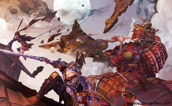 Onimusha: Dawn Of Dreams by hoseou