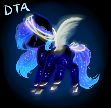 MLP DTA Adopt - Celestial Drift (OPEN) by dolphinMLP