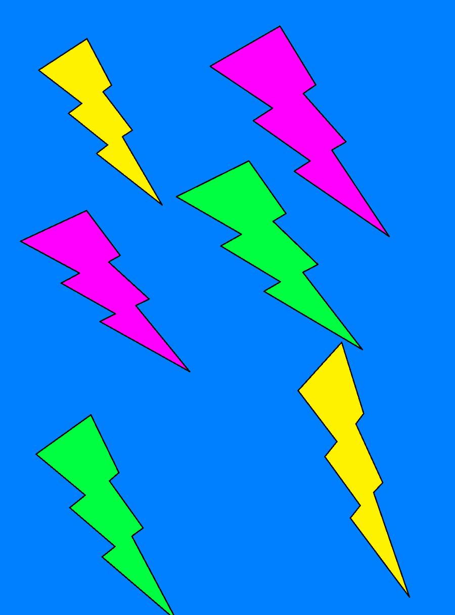 Blue Thunder Cartoon