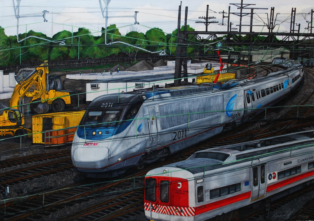 Amtrak acela express by jrcentral on deviantart