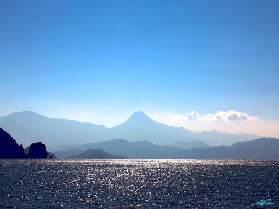 The Blue Turkish Landscape by CChrieon
