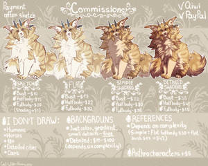 Commissions (closed)