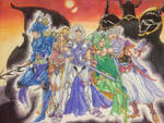 Final Fantasy IV by PinkDerpyUnicornz