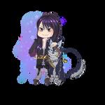 Yuri and Repede Chibis