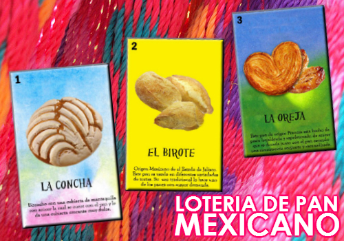 Loteria de pan mexicano by LaGrafikat