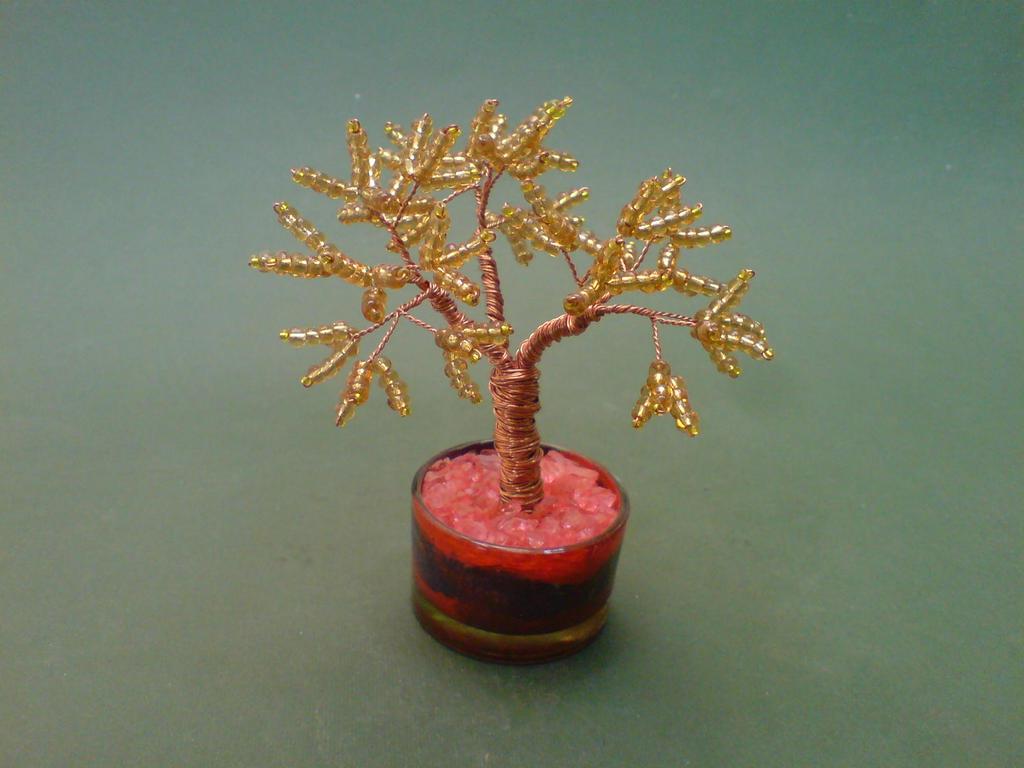 bonsai wire tree sculpture golden pine by sinisaart on deviantart