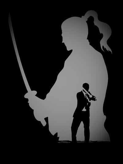 Business Samurai - Grey by Azrael2010