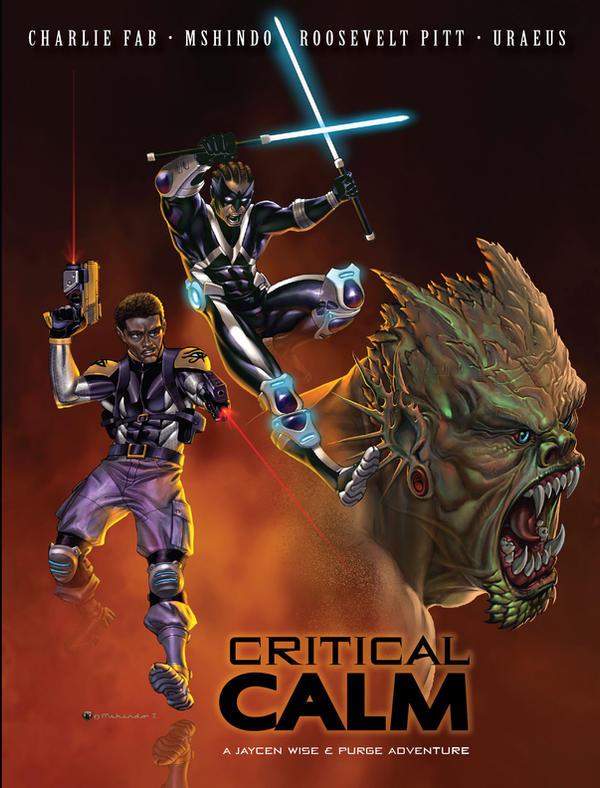 CRITICAL CALM poster 1