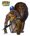 JAYCEN WISE and APEDEMAK by Mshindo