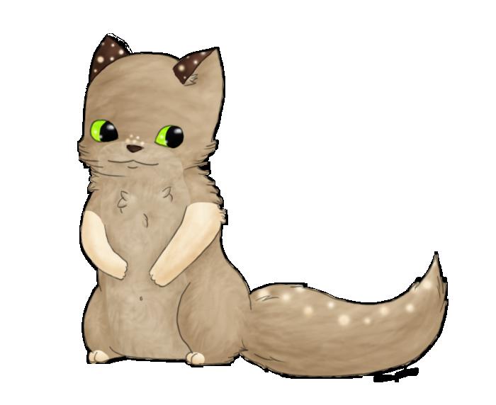 Thinking kitty by Nayirah