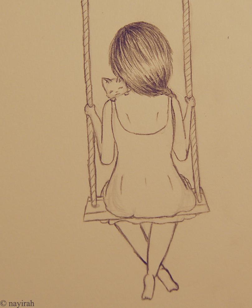 Swinging by Nayirah