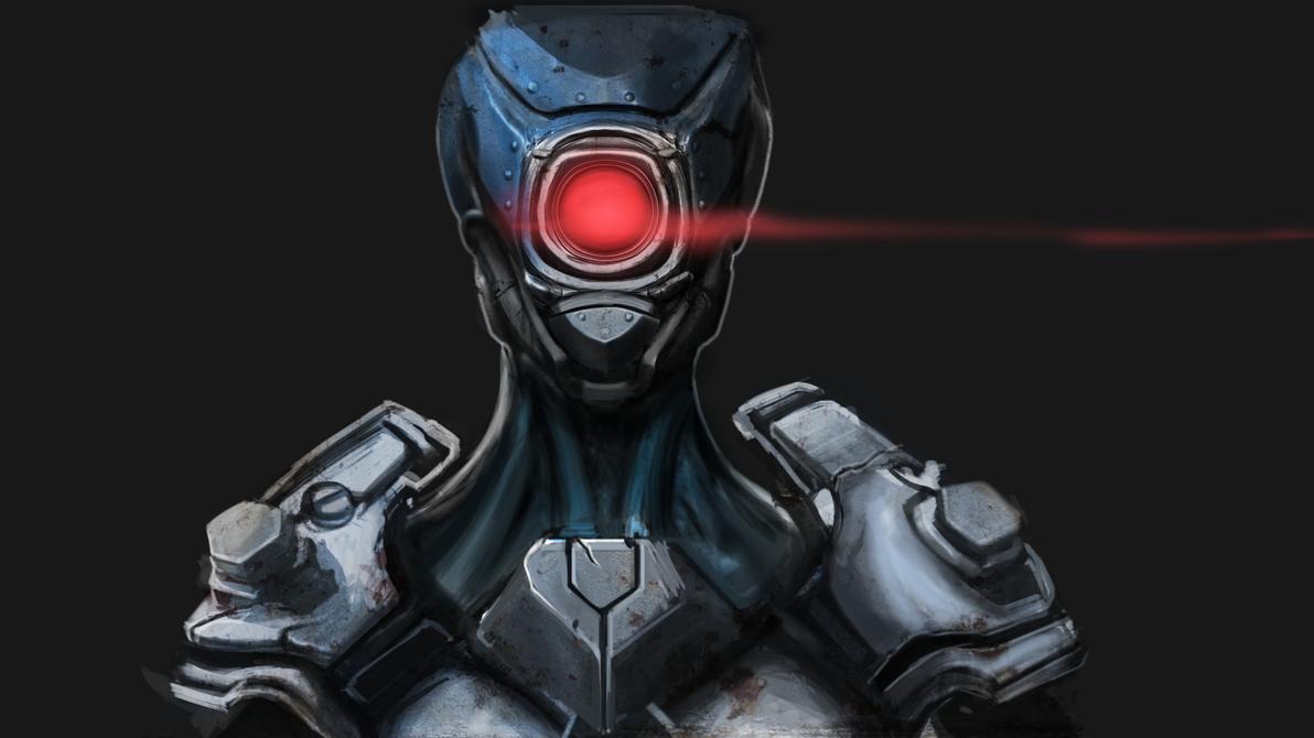 Megaman Zero- Pantheon by FishbonesCafe