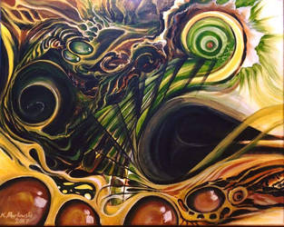 Green and gold by knezak