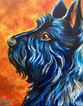 Blue Dog by knezak