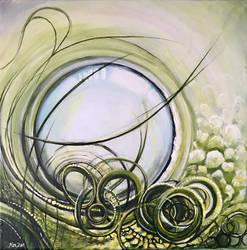 Green Circles by knezak