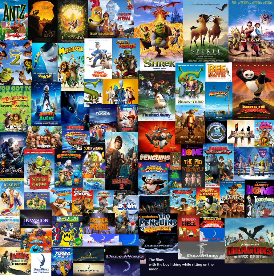 203 Best Images About Disney Pixar Dreamworks On: Dreamworks Tribute By TheDoctorWriter On DeviantART