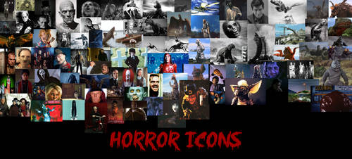 Horror Icons by The1MagusWriter