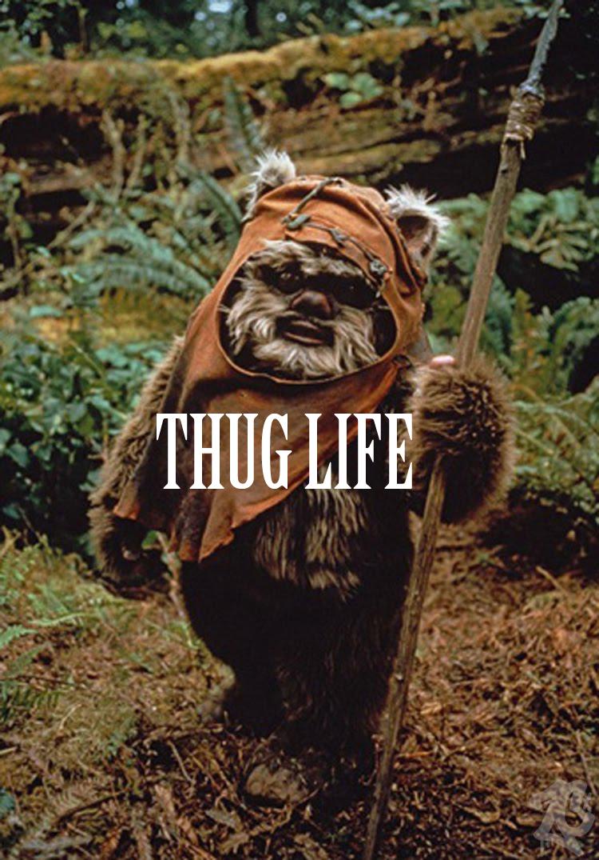 ewok thug life wallpaper