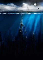 Underwater City by KungFuPlum