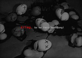 War. Such a waste by KungFuPlum