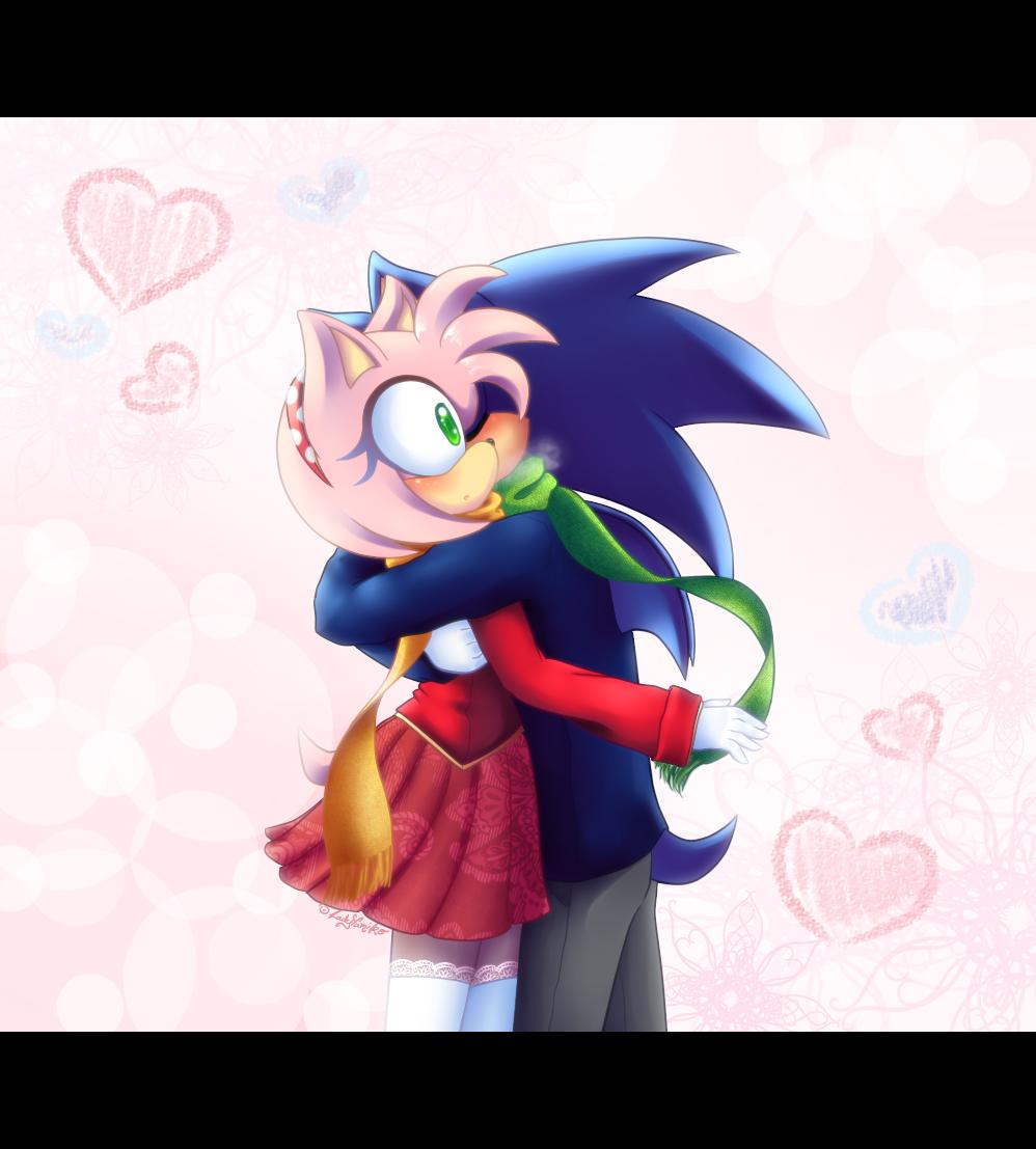 :AT: A warm hug by LadyYumiko