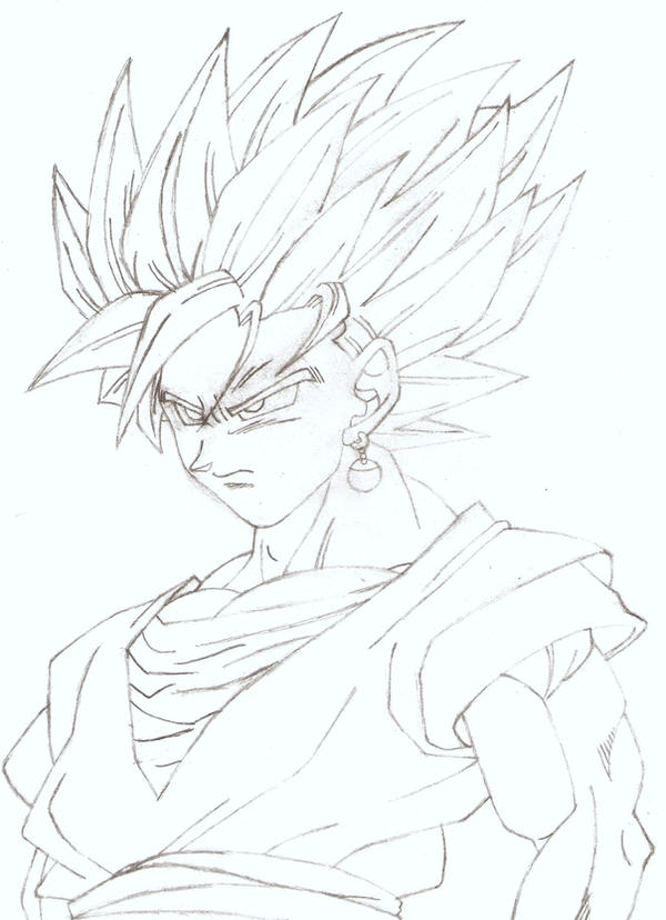 Super Saiyan 2 Goku by bluepelt on DeviantArt