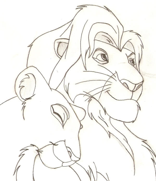 Simba and Nala by bluepelt on DeviantArt