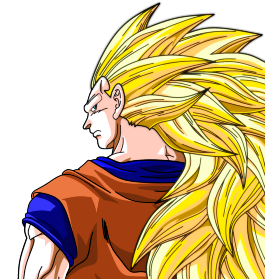Super Sayian 3 Goku by bluepelt