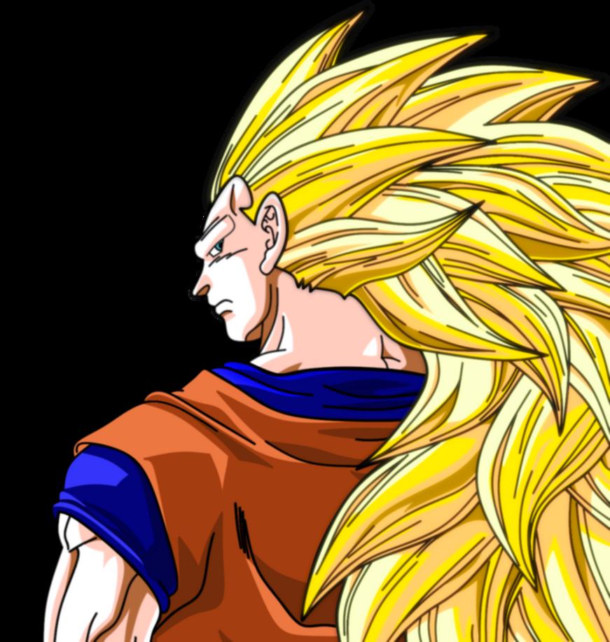 Super Sayian 3 Goku by bluepelt