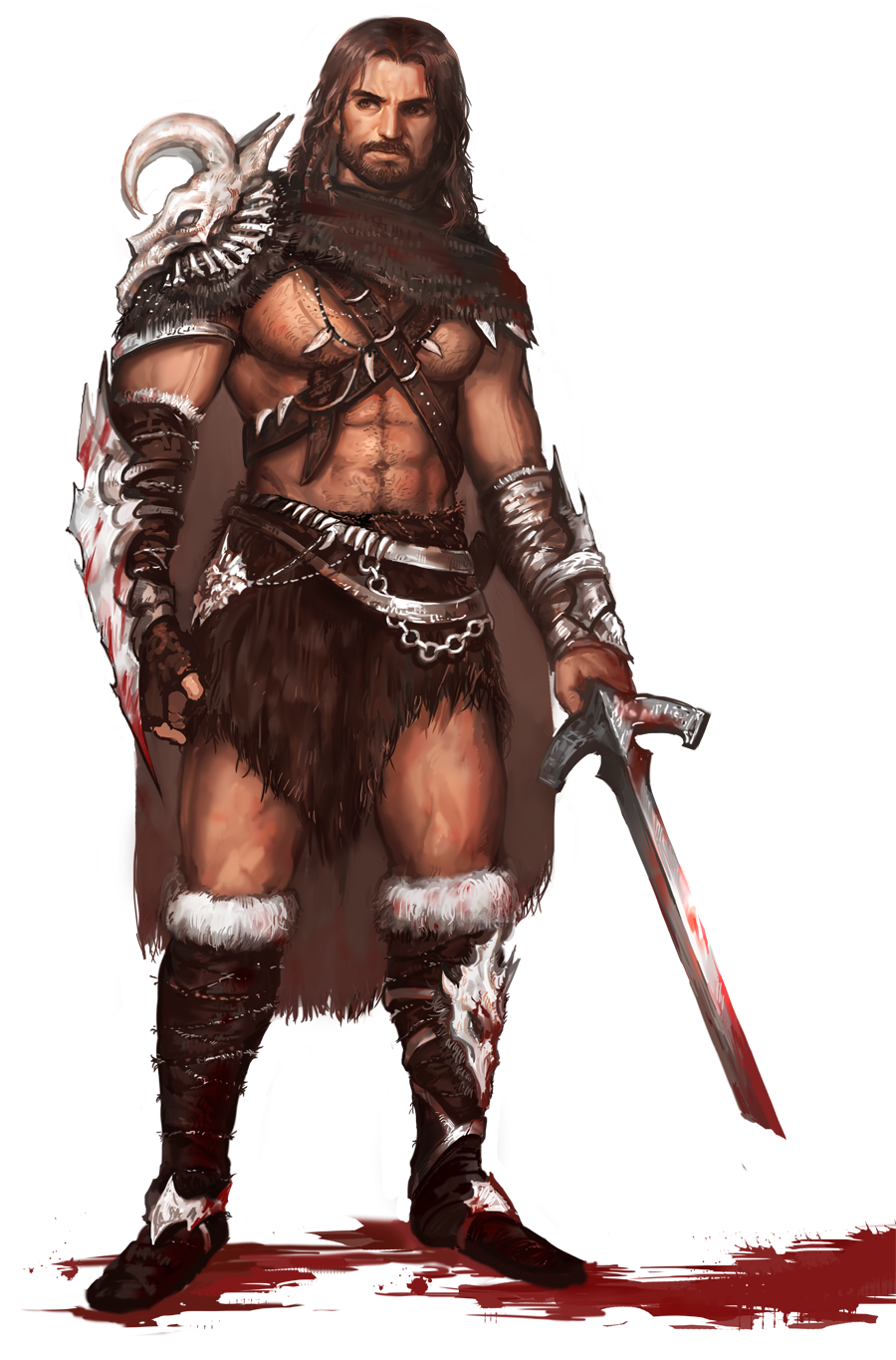 barbarian by brownmuscle