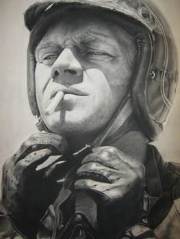 Steve McQueen Portrait