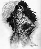 Sheshonemay Sketch by Sirenophilia