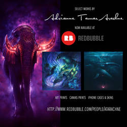 PRINTS NOW AVAILABLE THROUGH REDBUBBLE!
