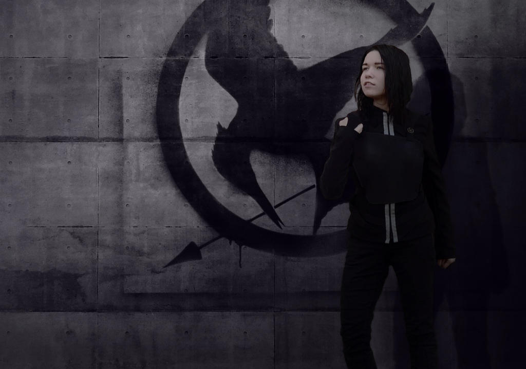 Mockingjay cosplay by signore-illusionista
