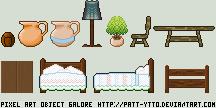 Pixel Art Object Galore by Patt-Ytto