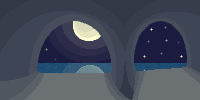 Moonlit Cave by Patt-Ytto